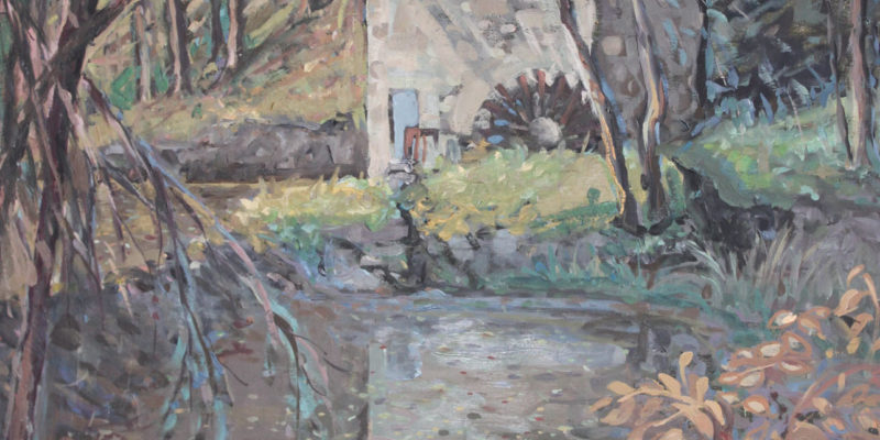 Moulin du Goire | Huile | 65x81