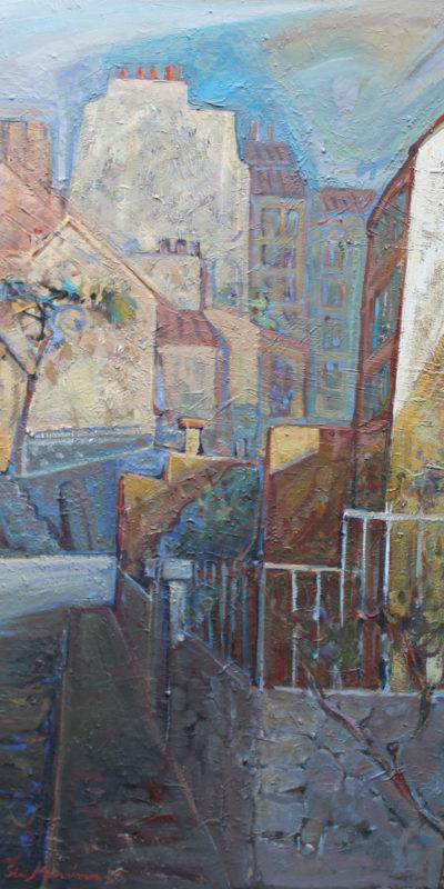 Rue Saint Vincent | Huile | 89x116